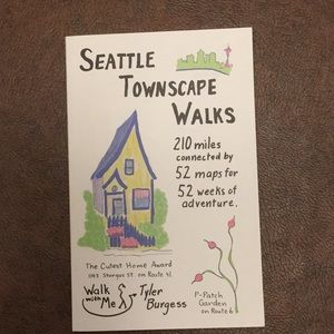 Take a walk w/ Seattle Townscapes paperback
